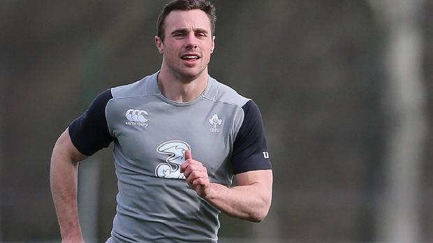 Tommy Bowe is keen to get back in the running for a starting berth on Ireland's wing