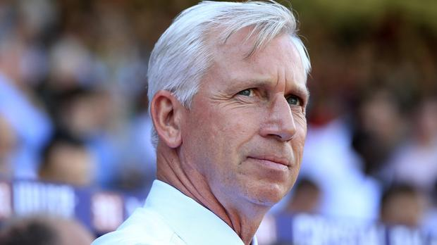 Alan Pardew's Crystal Palace host West Brom at the weekend