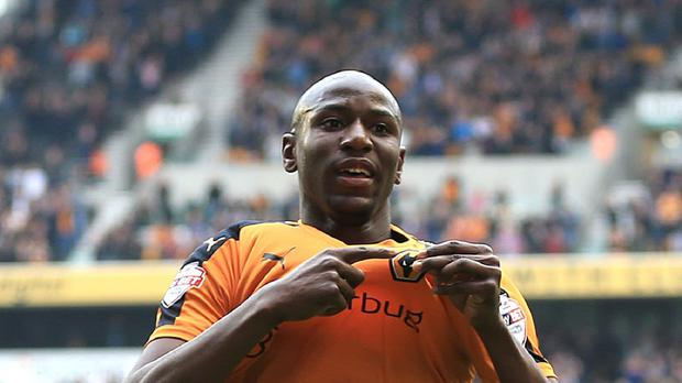 Striker Afobe was due to be in the Wolves squad which travelled to Upton Park in the FA Cup on Saturday: Nigel French/PA Wire