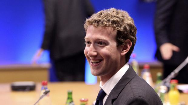 Mark Zuckerberg, founder of Facebook, is to become a father