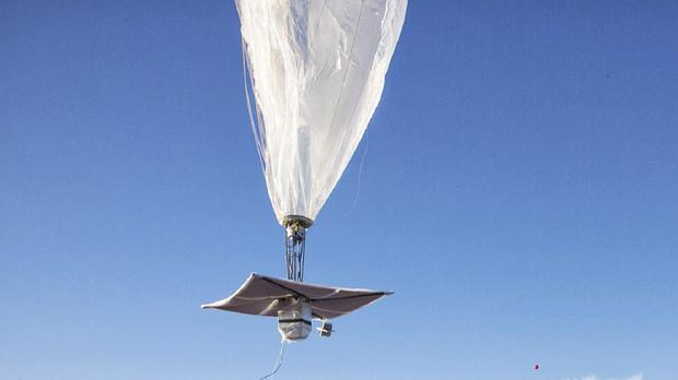 Project Loon is still testing its technology, so there is no estimate as to when it will start selling the internet service to households and businesses within range of the balloons (AP)
