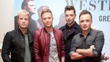 Westlife are back with new material and announced their return by video on their Facebook page. Photo: Collins