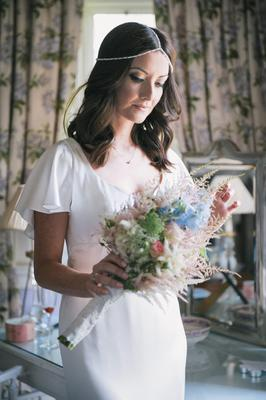 Jennifer Maguire married long term partner Lau Zamparelli at an intimate ceremony in Castle Leslie