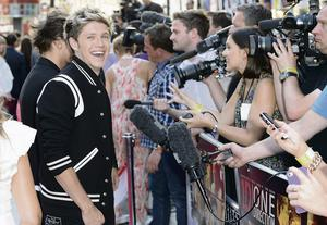 Niall Horan at the UK premiere. Photo: Getty Images