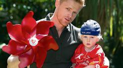 Heart Children Ireland, a voluntary support group for those affected by congenital heart disorders (CHD), has announced Damien Duff as their new charity ambassador. Damien is father to a young son, Woody, with a congenital heart disorder