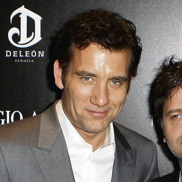 Clive Owen. Photo: Reuters