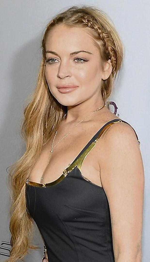 Actress Lindsay Lohan. Photo: Getty