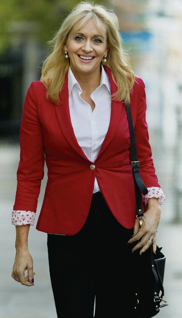 ON AIR: Miriam O'Callaghan's new radio show will go out at 10am on Sundays, an hour before Marian Finucane