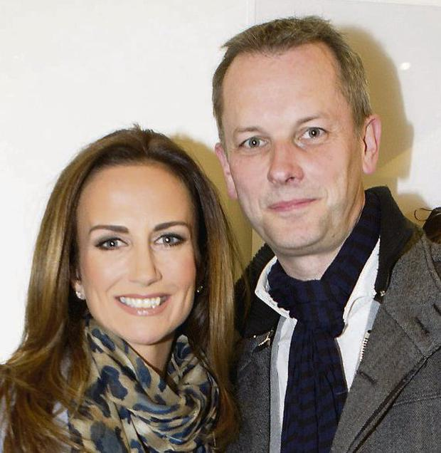 Lorraine with husband Peter. Photo: Kyran O'Brien