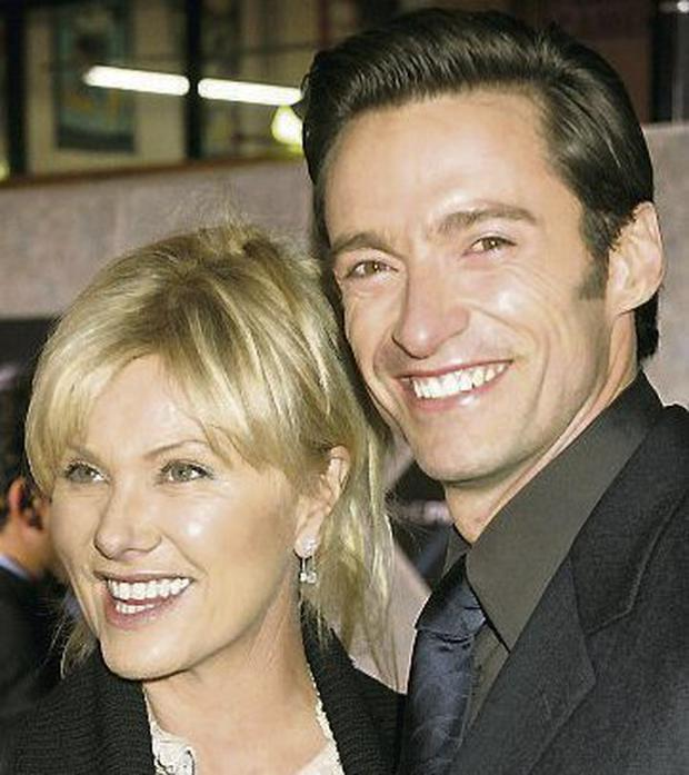 Hugh Jackman and wife Deborra-Lee Furness. Photo REUTERS/Fred Prouser