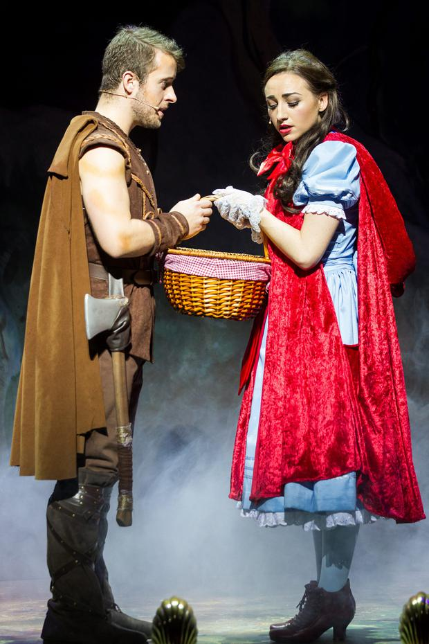 Little Red Riding Hood and the Big Bad Wolf at the Gaiety Theatre