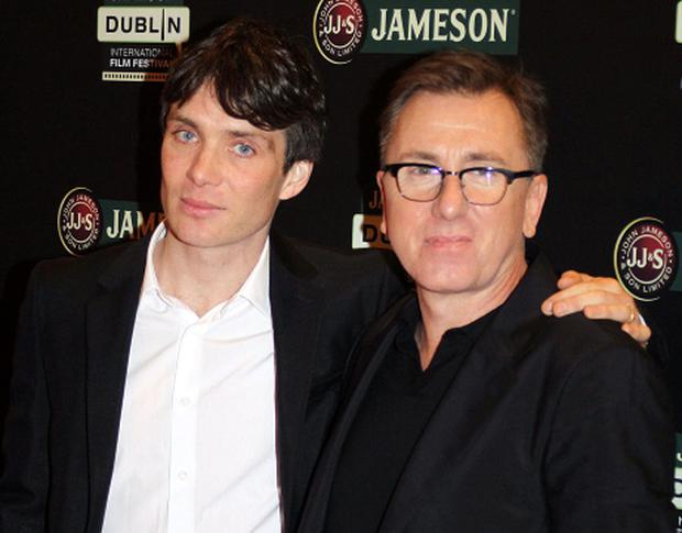 Cillian Murphy and Tim Roth pictured at The opening night of The Jameson Dublin International Film Festival for the screening of 'Broken' at The Savoy Cinema last night.