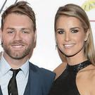 Brian McFadden and Vogue Williams. Photo: Brian McEvoy