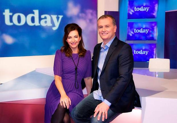 Today presenters Maura Derrane and Dáithí O Sé