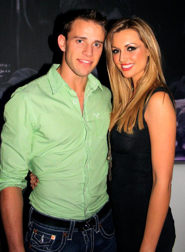 Wesley Rourke and Rosanna Davison. Photo: Brian McEvoy