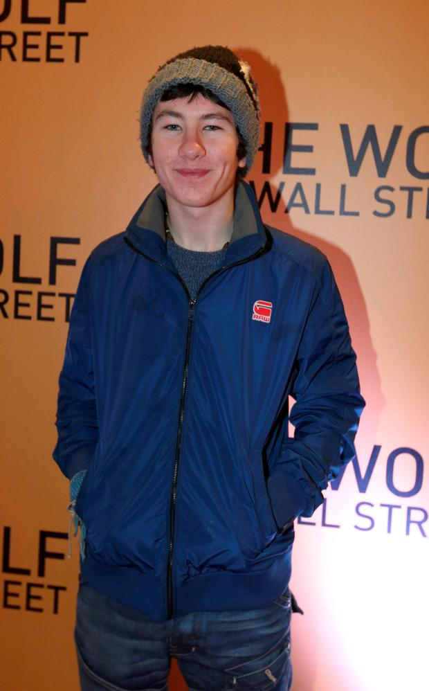 Actor Barry Keoghan: Photo: Damien Eagers