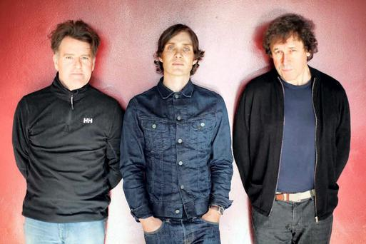 Mikel Murfi, Cillian Murphy and Stephen Rea from the play Ballyturk.