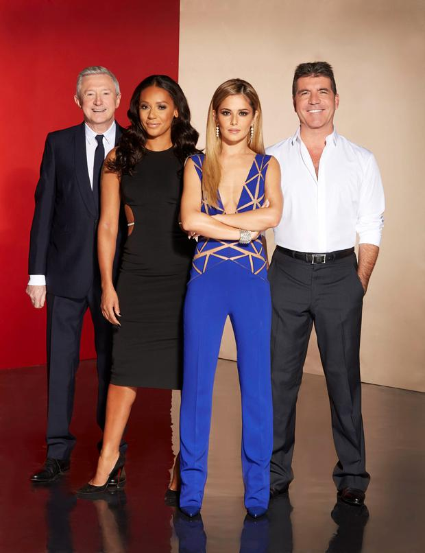 X Factor hosts