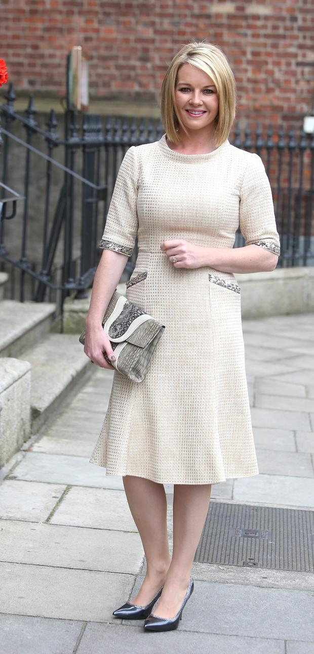 Broadcaster Claire Byrne