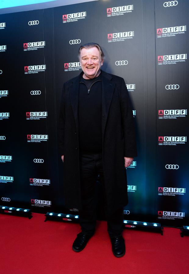Brendan Gleeson at the premiere for Atlantic