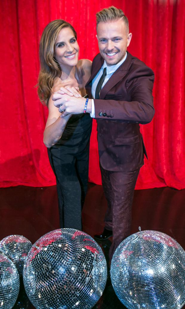 Amanda Byram and Nicky Byrne who were announced today as the new hosts of RTE 's new Show Dancing with the Stars.