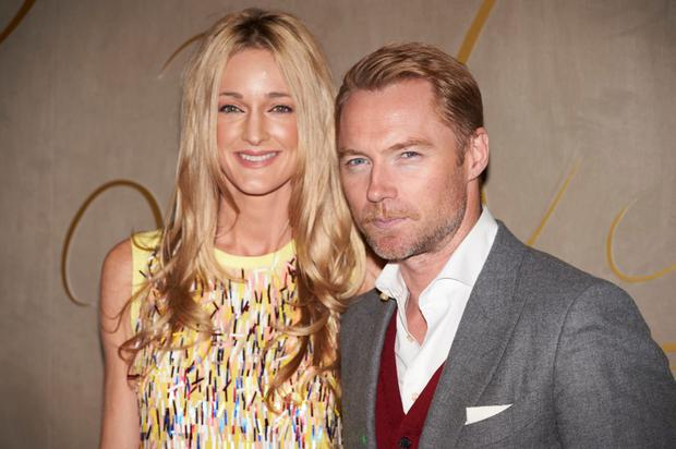 Storm Keating is excited to be having a baby with Ronan