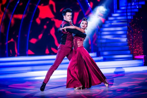 02 - Dayl Cronin & Ksenia Zsihotska: Tango to 'Drag Me Down' by One Direction ,pictured during the Third live show of RTE's Dancing with the stars.