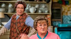 Mrs Brown and Eilish O'Carroll