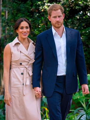 Prince Harry has arrived in Canada to rejoin his wife Meghan and son Archie. Photo: PA