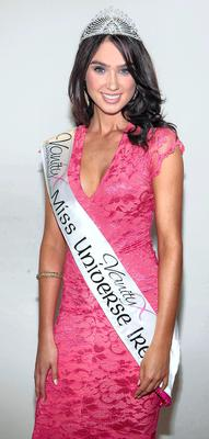 Lisa Madden from the Old Mallow Road in Cork who was the overall winner at Miss Universe Ireland