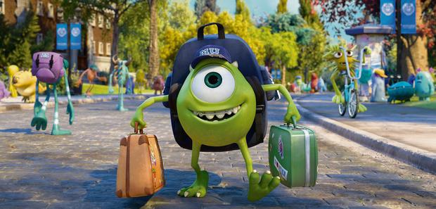 GREEN DREAM: Monsters University