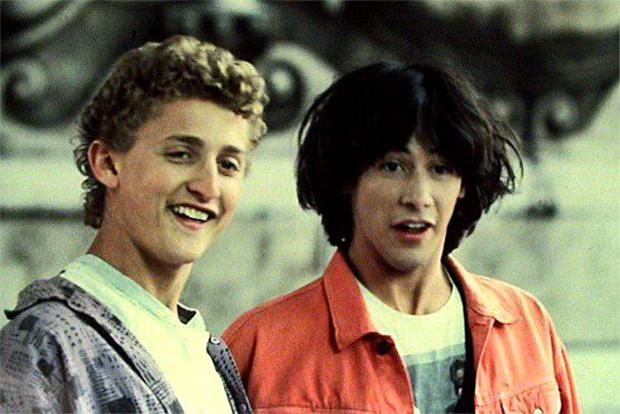 Keanu Reeves in Bill and Ted's Big Adventure
