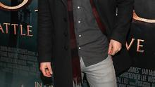 """Actor Aidan Turner pictured tonight at The Irish Premiere screening of """"The Hobbit the battle  of the five armies"""" at the Savoy Cinema Dublin"""