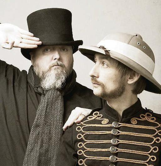 Teammates: Thomas Walsh and Neil Hannon of Duckworth Lewis Method
