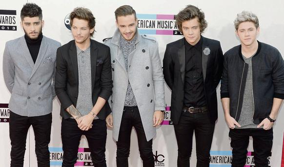 Superstars: One Direction have sold out Croker gigs. Photo: Getty