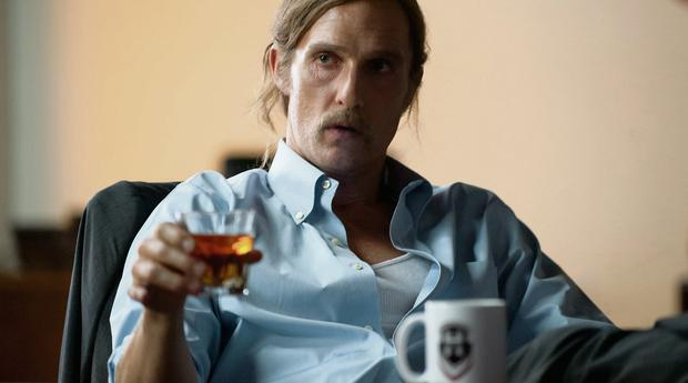FINALE: Matthew McConaughey as Rust  Cohle in True Detective