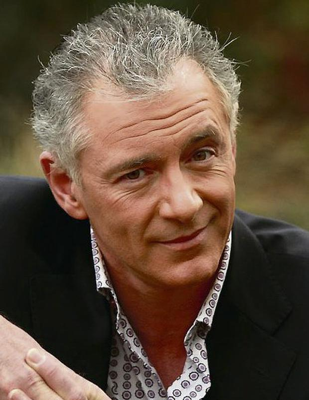 Chest pains: Mark Cagney was rushed to hospital from TV3. Photo: Gerry Mooney