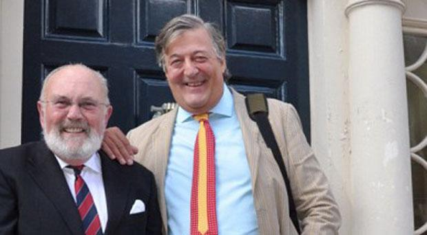 Stephen Fry and David Norris