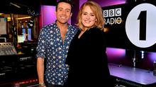 "Handout photo taken from the Twitter feed of @R1Breakfast of award-winning singer Adele with BBC Radio 1 Breakfast presenter Nick Grimshaw, where the singer said it is a ""dream come true to make music for people to hear"". PRESS ASSOCIATION Photo. Issue date: Friday October 23, 2015. The singer sent fans into a frenzy when she posted about her much-anticipated third album, 25, on her Instagram account earlier in the week. See PA story SHOWBIZ Adele. Photo credit should read: @R1Breakfast/BBC/PA Wire"