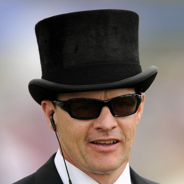 Aidan O'Brien plans to be triple-handed in the Power EBF Tetrarch Stakes at the Curragh on Monday. Picture: Andrew Matthews/PA Wire.
