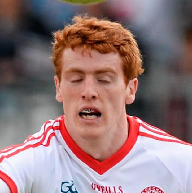 Peter Harte, Tyrone. GAA Football All Ireland Senior Championship, Round 1B, Tyrone v Louth, Healy Park, Omagh, Co. Tyrone. Picture: Oliver McVeigh/Sportsfile.