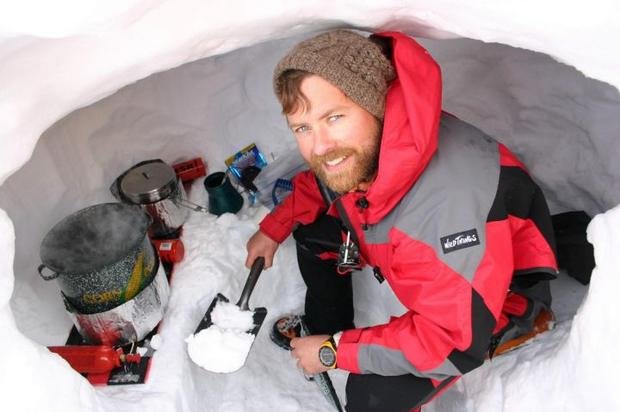 Gerard McDonnell on Denali in the US in 2005