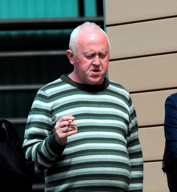Gerry O'Meara is charged with serious assaulting a nurse