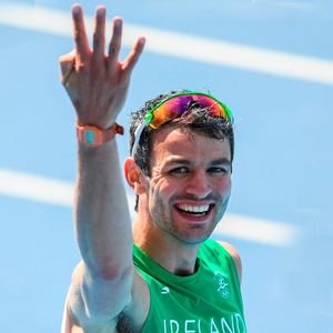 18 August 2016; Thomas Barr of Ireland after the Men's 400m hurdles final after he finished in 4th place with a new Irish record of 47.97 in the Olympic Stadium, Maracanã, during the 2016 Rio Summer Olympic Games in Rio de Janeiro, Brazil. Photo by Ramsey Cardy/Sportsfile