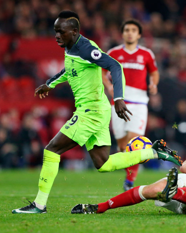 Sadio Mane in action for Liverpool. Photo: Reuters