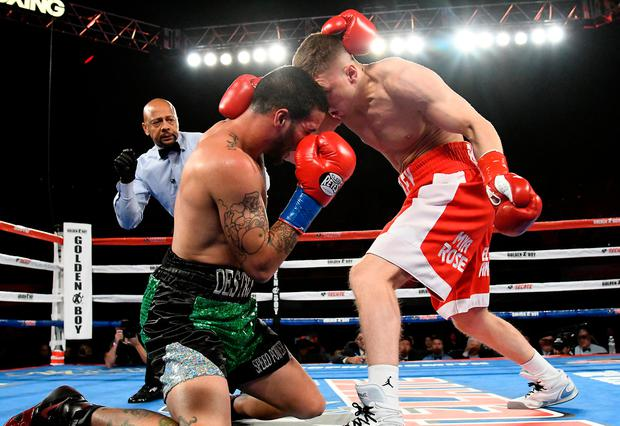 Jason Quigley defeated Jorge Melendez. Pic: USA Today Sports