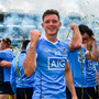 17 September 2017; Dublin's Paul Flynn celebrates following the GAA Football All-Ireland Senior Championship Final match between Dublin and Mayo at Croke Park in Dublin. Photo by Ramsey Cardy/Sportsfile