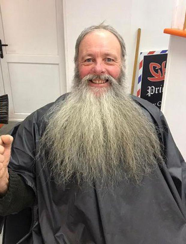 Stephen Maloney from Slane with his Long Beard