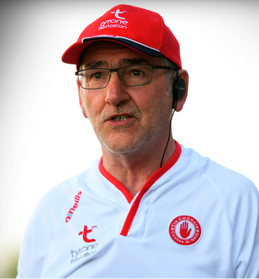 SEMI HURT: Tyrone manager Mickey Harte will be anxious to get one over Dublin after defeats in Omagh in February and in last year's All-Ireland SFC semi-final