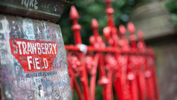 Strawberry Fields, which inspired the song by The Beatles, in a suburb of Liverpool called Woolton.